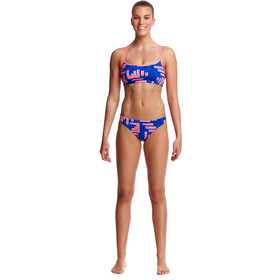 Funkita Criss Cross Top Mujer, hot rod